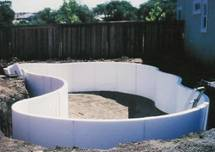 Swimming Pool Walls Out Of Icfs Greenbuildingtalk Greenbuildingtalk Green Building Forums